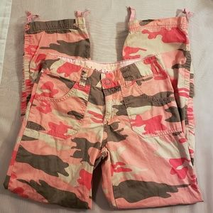 Duck Head Jeans Co. Pink Cargo Pants. Size 12